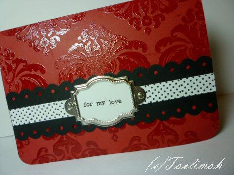 Valentine for my love 1