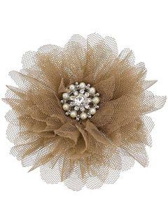 Elsie vintage net corsage