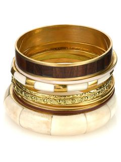 Moroccan bangle set