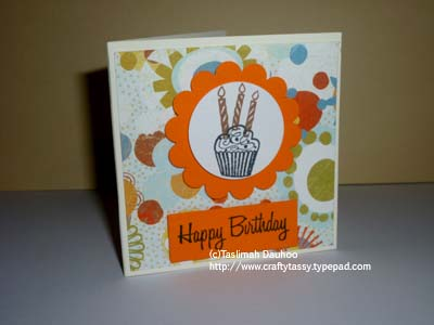 Bday card sample 2