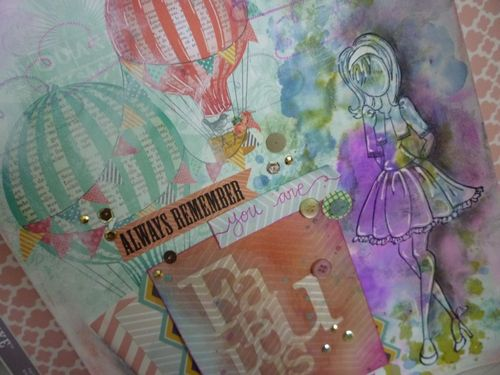 Mixed media art journal -Picture 2