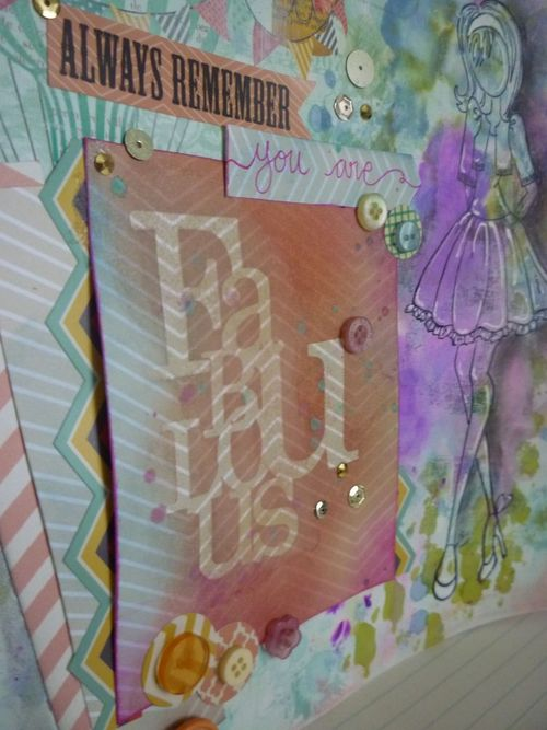 Mixed media art journal- picture 3